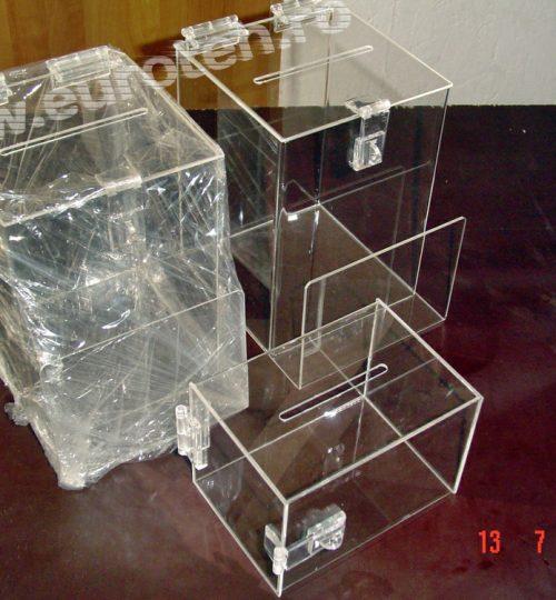 cutii donatie plexiglas