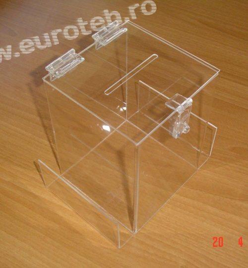 urna 150x150x200 mm