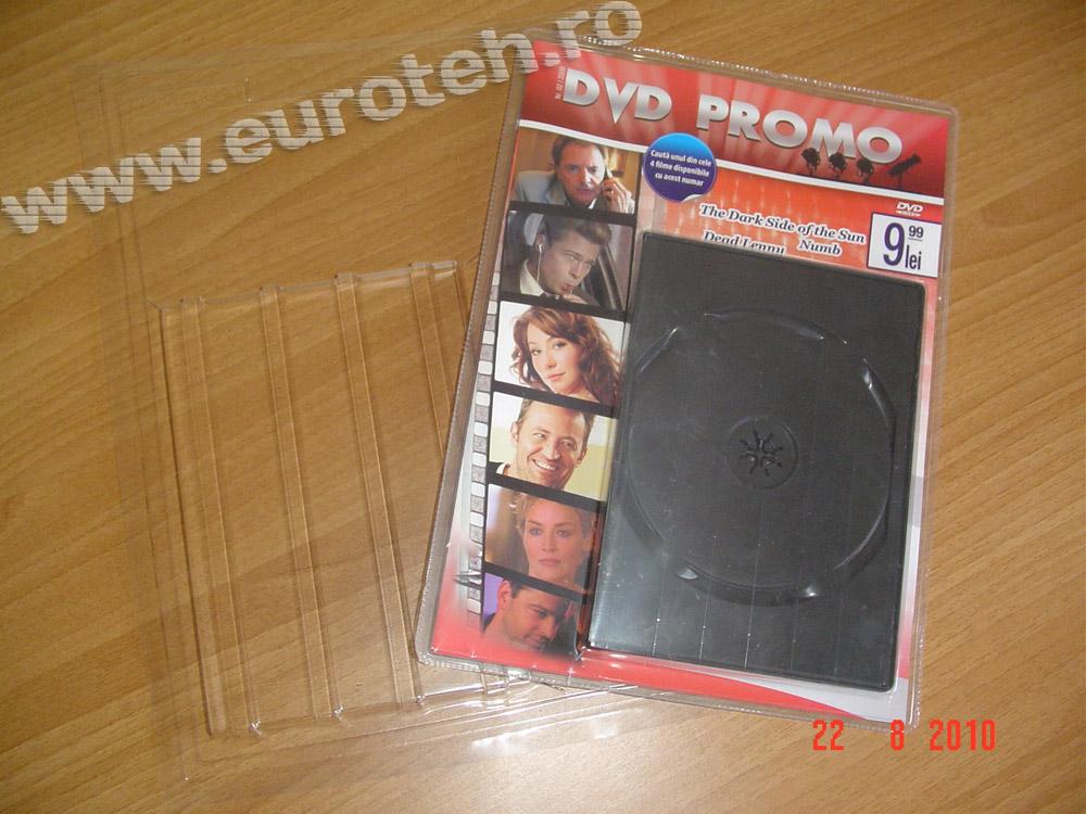 kit ambalare DVD cu revista